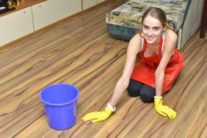 床材(無垢床以外)のハウスクリーニング方法